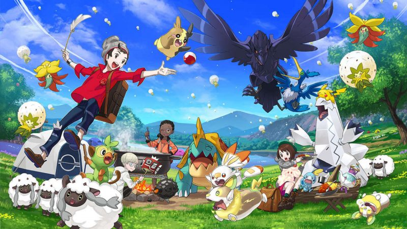 Pokemon Sword and Shield: Where is Bulbasaur and Squirtle? 1