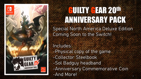 "Guilty Gear Strive release date ""late 2020""; Anniversary Pack revealed 2"