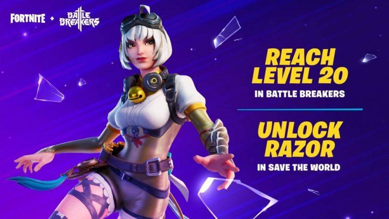 How to get free Razor skin Fortnite.