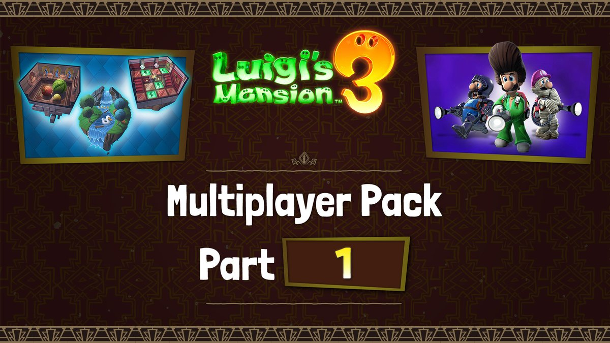 Luigi's Mansion multiplayer DLC.